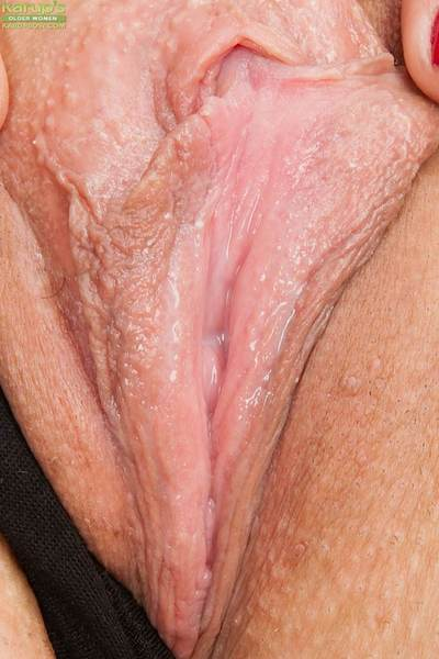 Mature cosset Gaiety spreading wings together with in the same manner that tight-fisted pussy
