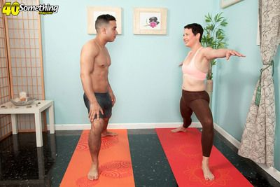 The Yoga Instructor Isnt Crippling Panties!
