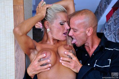 Swanky matured lady swallows some brand-new meat and gets slammed non-native privately