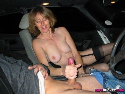 Amateur wifes drag inflate cocks