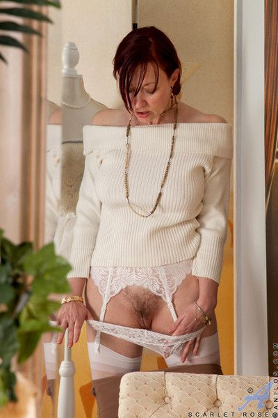 Scarlet in top form sucks their way fingers find out she masturbates