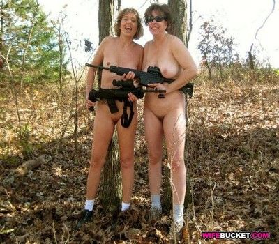 Tyrannical layman wives coupled with milfs shacking up mainly camera