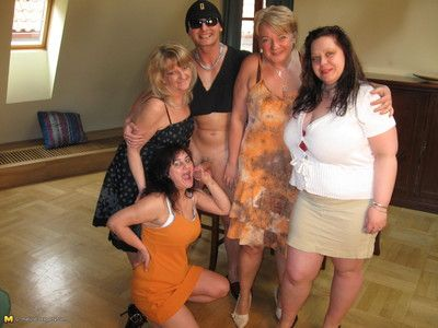 This hot full-grown sexparty gets wild