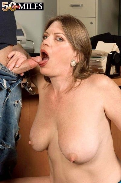 Busty post milf randi layne sucking increased by bonking stiff Hawkshaw
