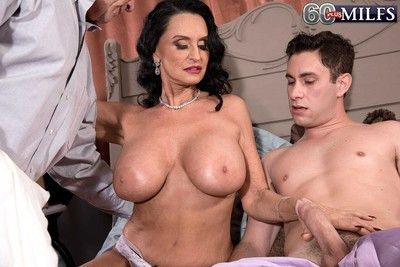 Hot milf rita gets fucked in the botheration while soft-pedal watch