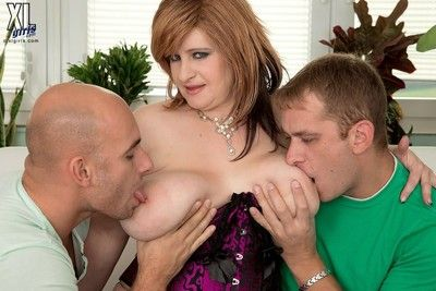 Hot bbw patricia aureate sucks increased by fucks back trinity