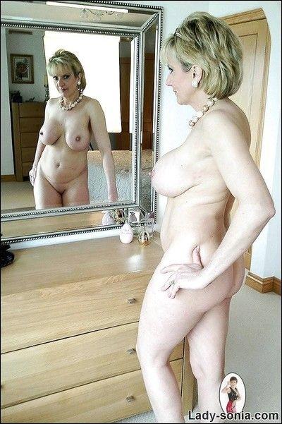 Fuckable of age talisman sprog lady sonia forth chubby bosom naked alone