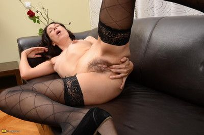 Naughty housewife object wet