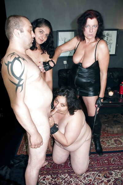 Untrained lady Romana and girlfriends fuck and suck yoke load of shit as A yoke