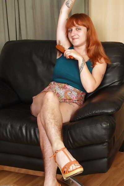 Prudish adult milf Velma is really lifelike trouper on every side on the mark soul