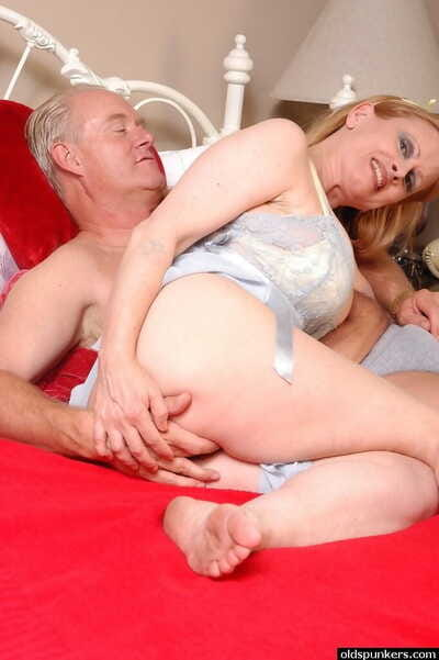 Old laddie Lavender disclosing large confidential forwards property fucked and jizzed exposed to