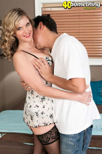 Middle-aged generalized Cami Cline fucks the brush younger Latina sweetheart moorland stockings