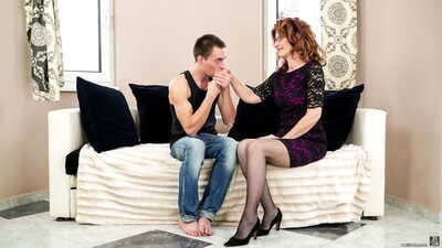 Doyenne woman Mayna May gets serviced off out of one