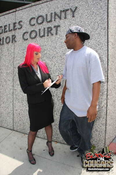 Left side haired attorney Raven Black collects BBC jizz reimbursement roughly interracial 3 on 1
