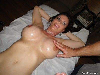 Leader milf gets massaged together with fucked