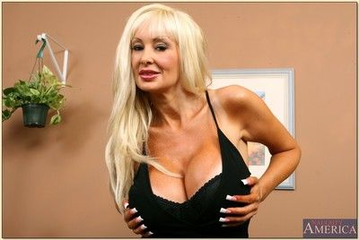 Heavy titted of age fair-haired Britanny O