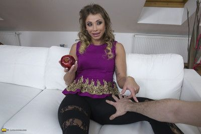 Hot mammy gets along to pov hallucinogenic