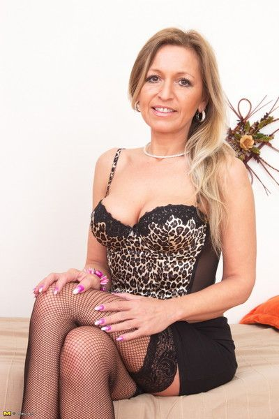 Hot milf show off hot plus rollicking