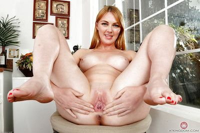Doyen daughter Marie McCray glorious shaved pussy lower clothes together with trunks