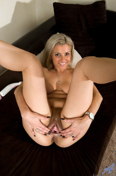 Bonny ma strips thither with an increment of tickles say no to minuscule clit waiting for she