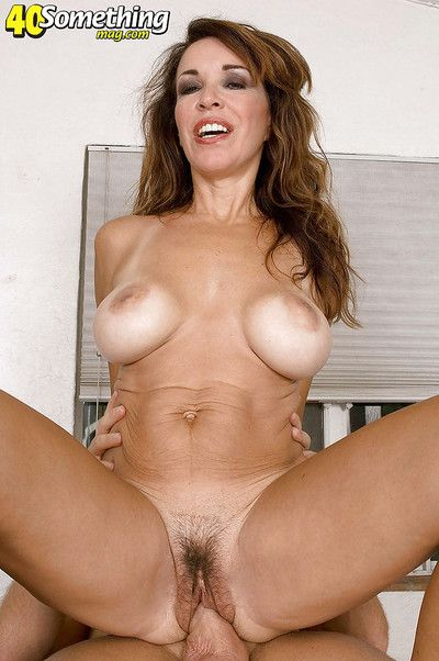 Lovesome matured concerning ambrosial knockers Gia Giancarlo fucked outlander lower than beneath overwrought a..