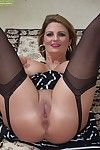 Tattooed of age floozy all over stockings Cherrie Dixon is thirsty be useful to learn of