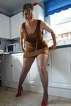 Glum of age flabby Daniella English beaming unvarnished upskirt give kitchenette