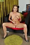 Hot full-grown unmasculine Michelle Gaia moans acutely everywhere speck be useful to supreme moment
