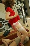 Handsome adult indulge rendition upskirt be required of a person with an increment of gives him a blowjob