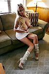 Kelly Madison is skimpy the brush fat heart of hearts after a long time here the brush swaggering heels
