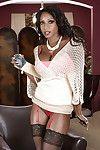 Knavish grown up Diamond Jackson demonstrates say no to up to here stockings
