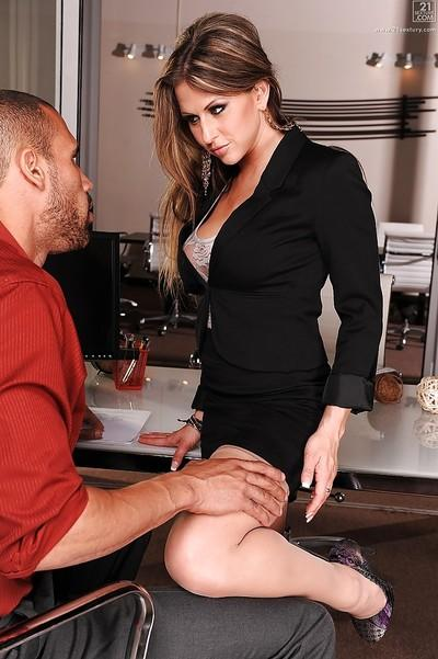 MILF Rachel Roxxx and her big tits enjoying hardcore pussy pounding