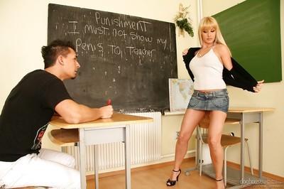 Filthy teacher Natallie D
