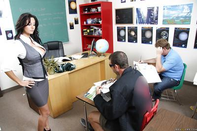 Busty MILF teacher Ava Addams got her heated cunt fucked hard