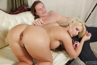 Milf Phoenix Marie demonstrates her sexy booty during hardcore sex