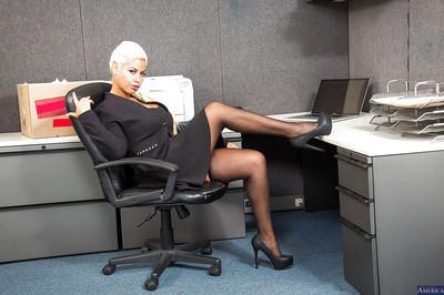 Bridgette B. is the most ravishing office slut of a bosses dream