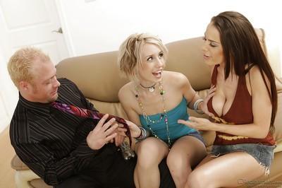 Big tits milf Proxy Paige is teaching Mckenzie Lee how to fuck