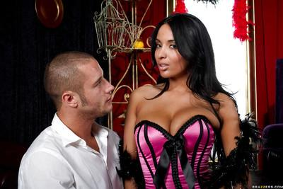 Hot latina Anissa Kate gets her pussy drilled until she squirts
