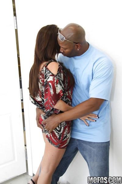 MILF babe Gianna Foxxx with big tits into hardcore interracial fucking