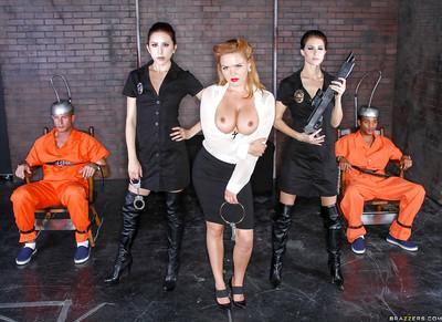 Krissy Lynn enjoys double penetration having a threesome groupsex