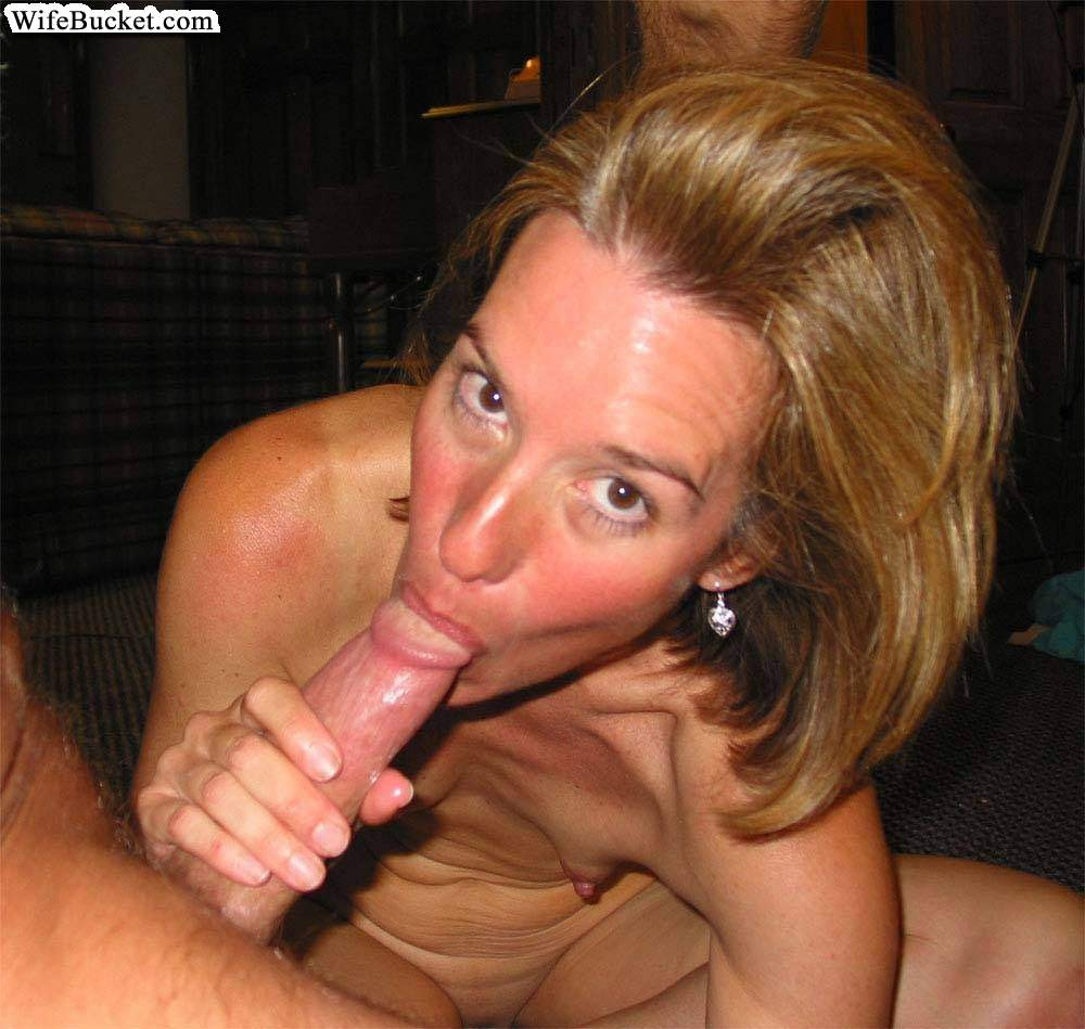 Sexy amateur wives from everywhere sucking on cocks