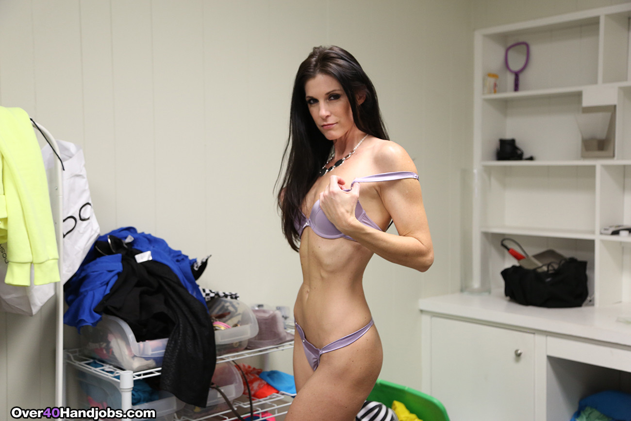 Hot step mom india summer jerking off her step son