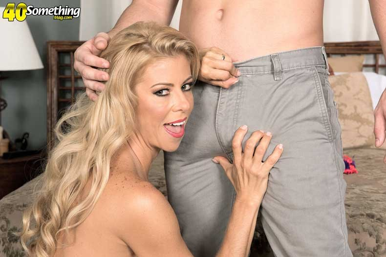 Busty blond alexis fawx craving huge stiff dick
