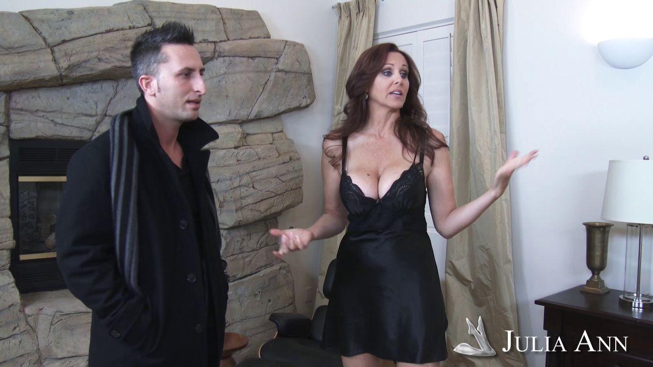 Busty milf julia ann likes steamy sex as a brunette too