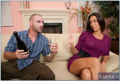 Milf tits hard core sex scene with luscious ho Rachel Starr