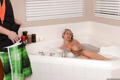 Wet milf Eva Notty has her filthy mouth fucked and her pussy fingered