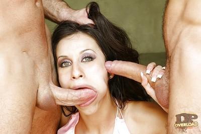 Swanky Latina Monica Breeze prefers to be drilled like a slut