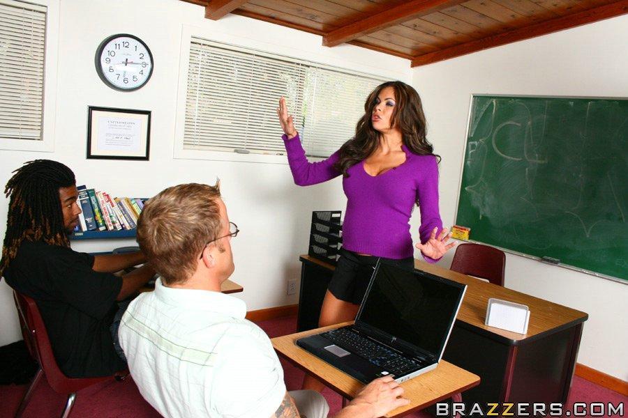 Lehrer wird gefickt Student