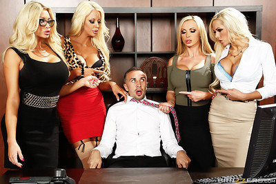 Group fucking pics in office with vusty blondes
