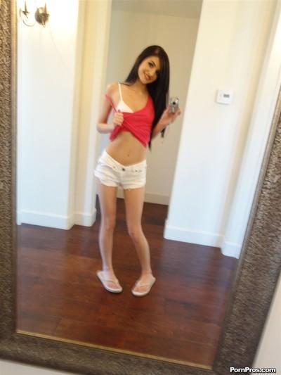 Zoey kush obtains nailed in mattress in her school girl uniform